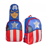 Marvel Comics - Sac à dos capuche Captain America