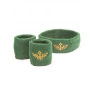 The Legend of Zelda - Set 3 bracelets éponge Logo