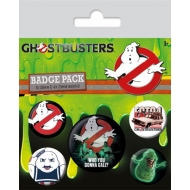 S.O.S Fantômes - Pack 5 badges Who You Gonna Call