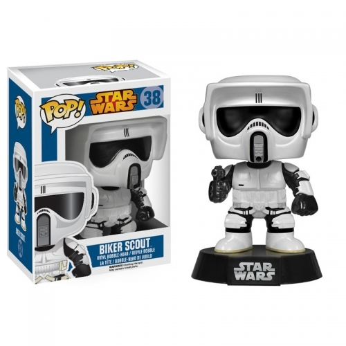 Star Wars - Figurine Pop Biker Scout Funko