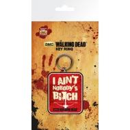 Walking Dead - Porte-clés caoutchouc Crossbow 7 cm