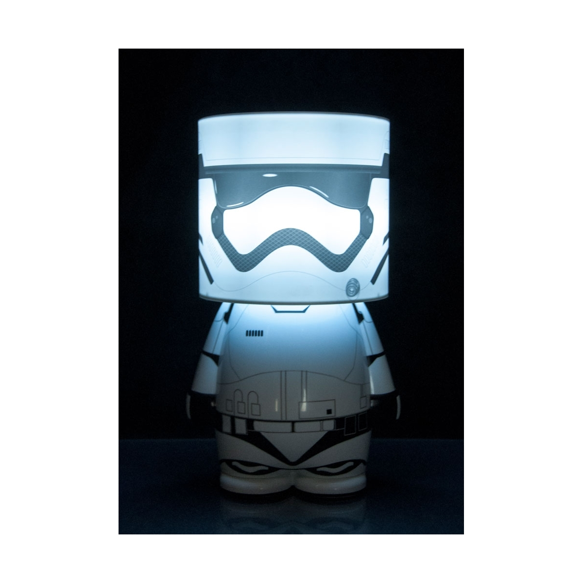 star wars episode vii lampe d 39 ambiance look alite led mood light first order stormtrooper 25. Black Bedroom Furniture Sets. Home Design Ideas