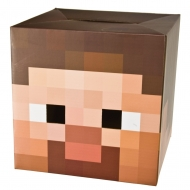 Minecraft - Tête de Steve en carton