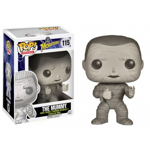 Classic Monsters - Figurine Pop Mummy 9cm
