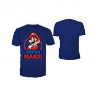 NINTENDO - T-Shirt Blue Marine Mario