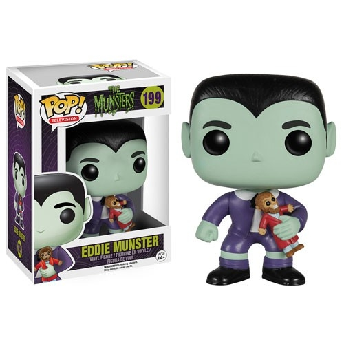 Munsters Pop - Figurine Eddie Munster 10cm