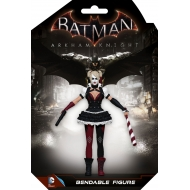 DC Comics - Batman Arkham Knight figurine flexible Harley Quinn 14 cm