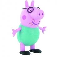 Peppa Pig - Mini figurine Daddy Pig 6,5 cm