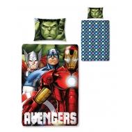 Avengers - Parure de lit réversible Shield 135 x 200 cm / 48 x 74 cm