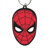 Spider-Man - Porte-clés caoutchouc Face 6 cm
