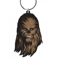 Star Wars - Porte-clés caoutchouc Chewbacca 6 cm