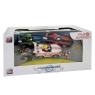Super Mario Kart Wii - Pack 3 voitures à friction 1/43 Mario, Luigi & Peach