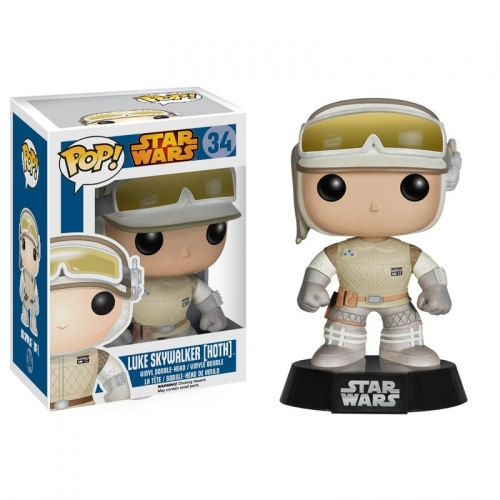 Star Wars - Figurine Pop Luke Skywalker Hoth 10cm
