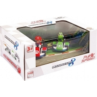 Super Mario Kart 8 - Pack 2 voitures à friction 1/43 Mario & Yoshi