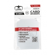 Ultimate Guard - 10 intercalaires pour cartes Card Dividers taille standard Transparent (10)