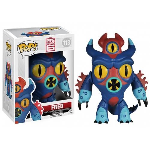 Disney - Figurine Pop Les Nouveaux Heros Fred 9 cm