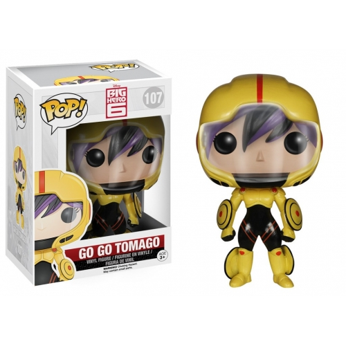 Disney - Figurine Pop Big Hero 6 Go Go Tomago 9 cm