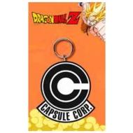 Dragonball Z - Porte-clés caoutchouc Capsule Corp 7 cm