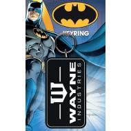 Batman - Porte-clés caoutchouc Wayne 7 cm