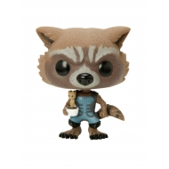 Les Gardiens de la Galaxie - POP! Vinyl Bobble Head Rocket Raccoon & Potted Groot 10 cm