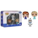 La Reine des Neiges - Coffret Pocket Pop Olaf Anna et Elsa