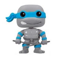Tortues Ninja - Les  POP! Television Vinyl figurine Leonardo Greyscale Limited 9 cm