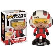 Star Wars - Episode VII POP! Vinyl Bobble Head Nien Nunb with Helmet Limited Edition 9 cm