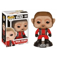 Star Wars Episode VII - POP! Bobble Head Nien Nunb 9 cm