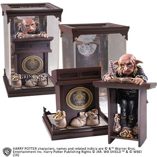 Harry Potter - Statuette Magical Creatures Gringotts Goblin 19 cm
