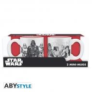 Star Wars - Set 2 mini-mugs Empire VS Rebel