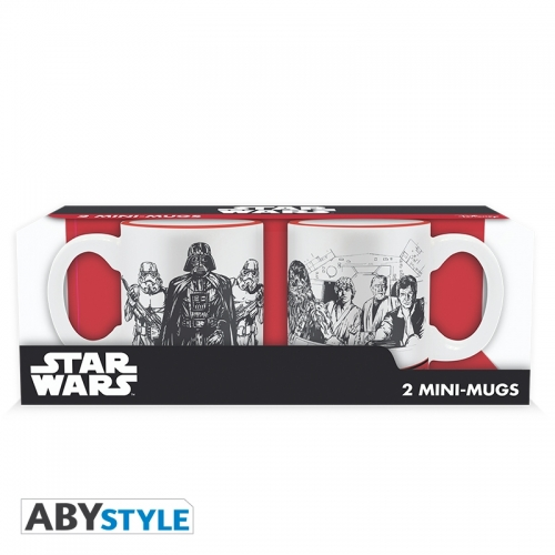 Star Wars - Set 2 mini-mugs Empire VS Rebel