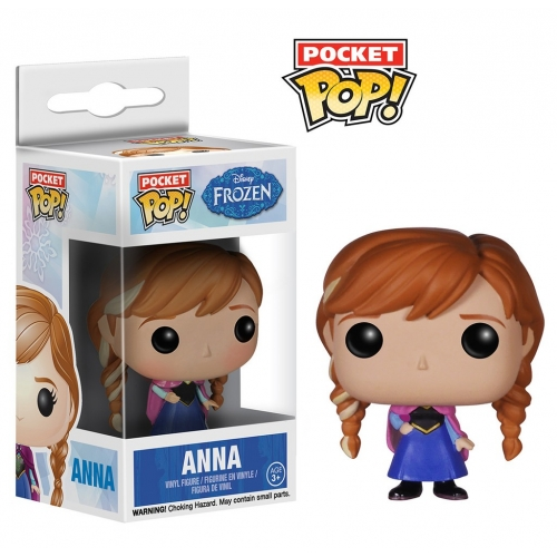 La Reine des Neiges - Figurine Pocket Pop Anna 4cm
