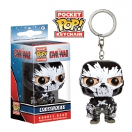 Captain America Civil War - Porte-clés Pocket POP! Crossbones 4 cm