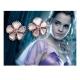 Harry Potter - Boucles d'oreilles de bal d'Hermione (plaqué argent)
