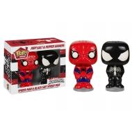 Marvel Comics - Salière et poivrière POP! Spider-Man & Black Suit Spider-Man