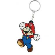 Super Mario Bros - Porte-clés caoutchouc Mario 7 cm