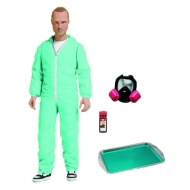 Breaking Bad - Figurine Jesse Pinkman in Blue Hazmat Suit Previews Exclusive 15 cm