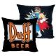 The Simpsons - Oreiller Duff Man Duff Beer 40 cm