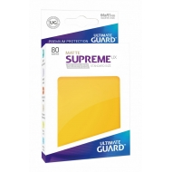 Ultimate Guard - 80 pochettes Supreme UX Sleeves taille standard Jaune Mat