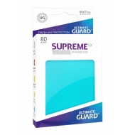 Ultimate Guard - 80 pochettes Supreme UX Sleeves taille standard Aigue-marine