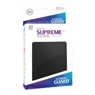 Ultimate Guard - 80 pochettes Supreme UX Sleeves taille standard Noir Mat