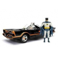 Batman 1966 - Batmobile mé©tal avec figurine 1/24