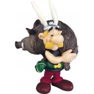 Astérix - Figurine portant un sanglier 6 cm