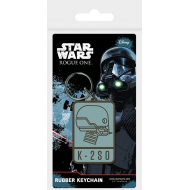Star Wars Rogue One - Porte-clés caoutchouc K-2SO 6 cm