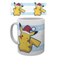 Pokemon - Mug Pikachu Santa