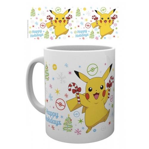 Pokemon - Mug XMAS Pikachu