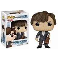 Sherlock - Figurine Pop Sherlock Holmes avec Violon 9cm