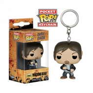 The Walking Dead - Figurine POP! porte-clés Daryl Dixon 4 cm
