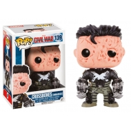 Captain America Civil War - Figurine POP! Bobble Head Crossbones (Unmasked) 9 cm