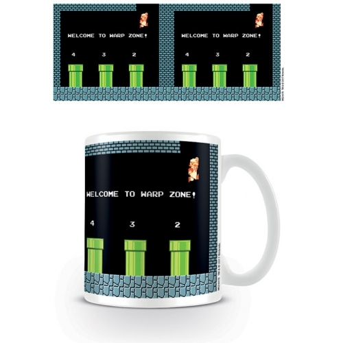 Super Mario Bros - Mug Warp Zone